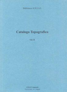 Catalogo Topografico Vol.II