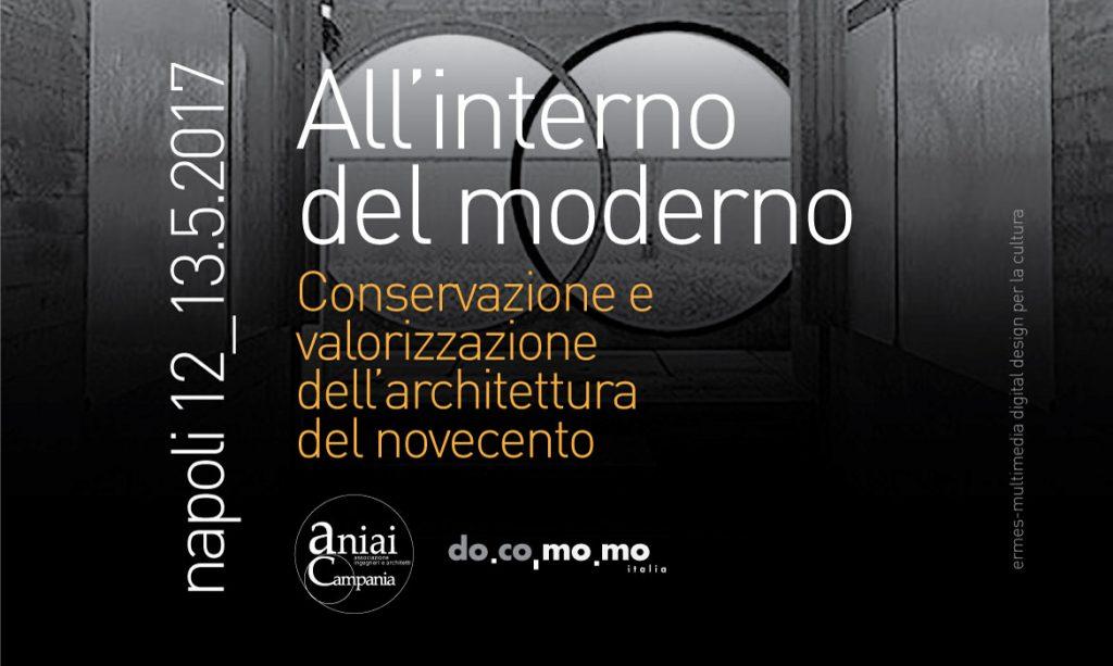All'interno del moderno  – Conservazione e valorizzazione dell'architettura del novecento