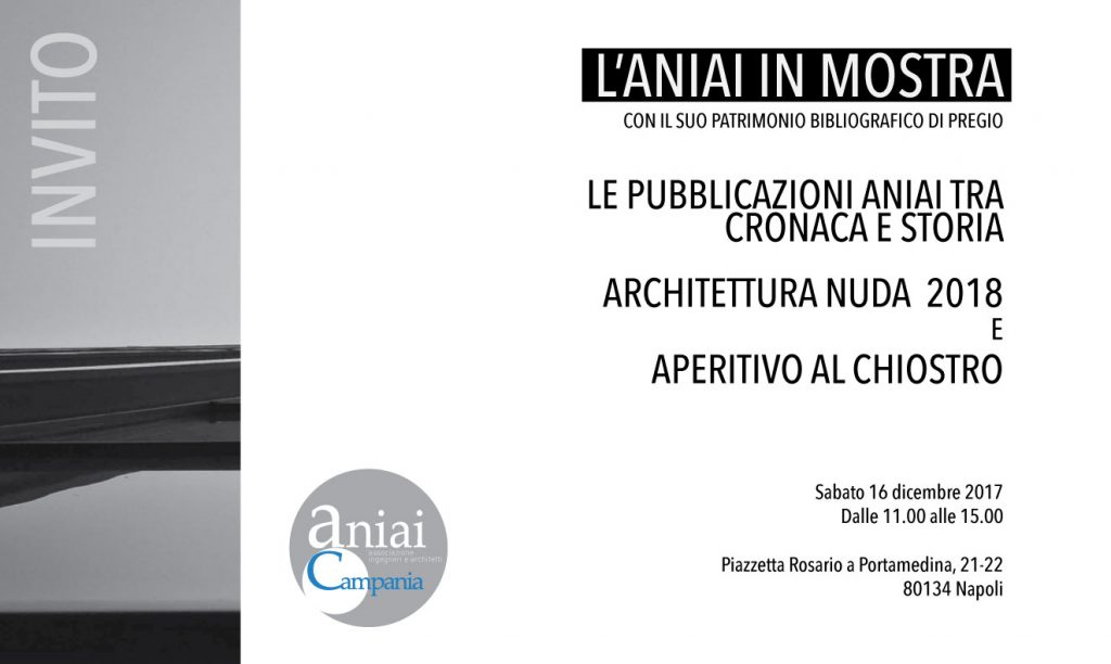 L'ANIAI IN MOSTRA