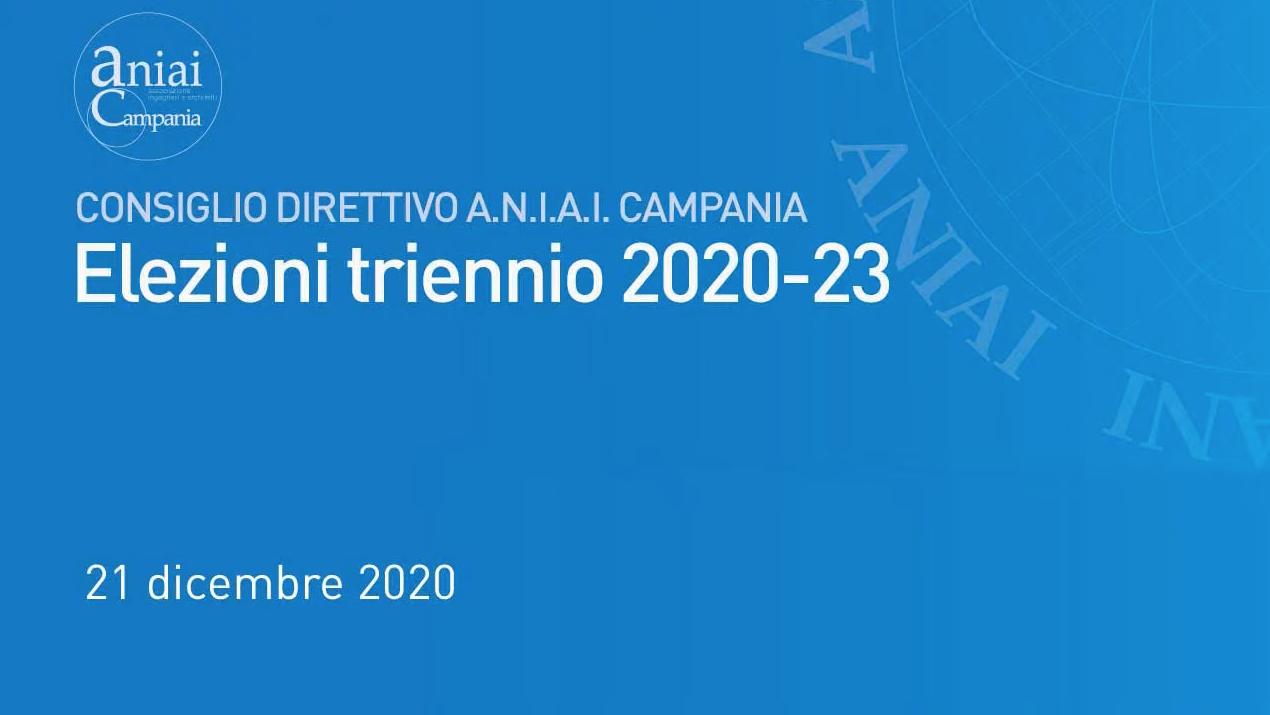 nuovi organi direttivi e commissioni di aniai Campania
