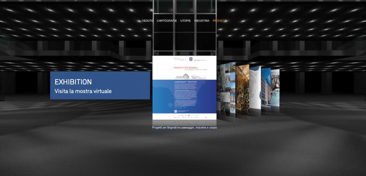 Progetti per bagnoli tra paesaggio, industria e utopia – Inaugurazione mostra virtuale